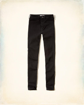 Hollister Black High-Rise Super Skinny Jeans