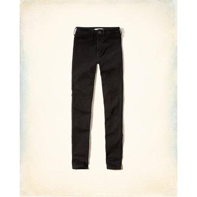 Hollister Black High-Rise Super Skinny Jeans