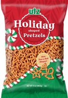 Utz Holiday Shaped Pretzels