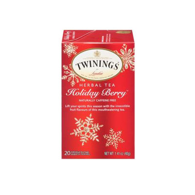 TWININGS® OF London Holiday Berry™ Tea Bags