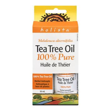 Holista Tea Tree Oil, 100% Pure, 50 mL