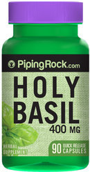 Piping Rock Holy Basil 400mg Tulsi 90 Capsules