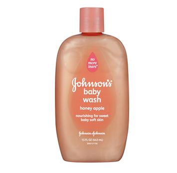 Johnson's® Baby Moisture Wash with Honey Apple