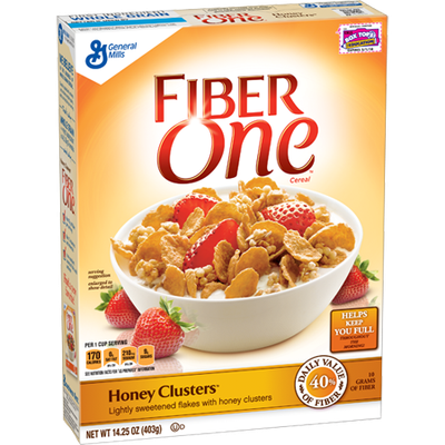 Fiber One Cereal Honey Clusters