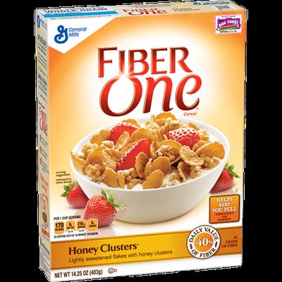 Fiber One Cereal Honey Clusters