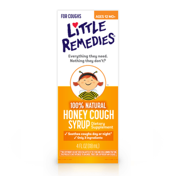 LITTLE REMEDIES® HONEY COUGH SYRUP