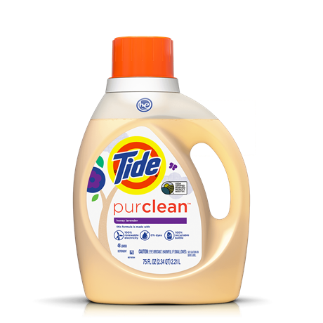 Tide purclean™ Honey Lavender Liquid Laundry Detergent