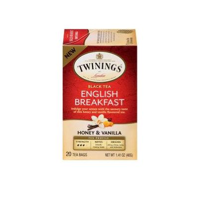 TWININGS® OF London English Breakfast Honey & Vanilla Tea Bags