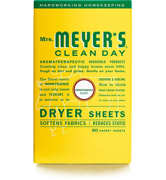 Mrs. Meyer's Clean Day Honeysuckle Dryer Sheets