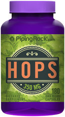 Piping Rock Hops 350mg 180 Capsules