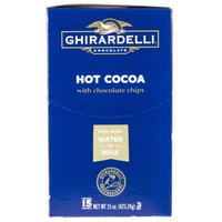 Ghirardelli Premium Hot Cocoa with Chocolate Chips (Water or Milk Soluble)