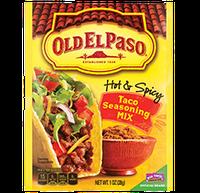Old El Paso® Hot And Spicy Taco Seasoning Mix