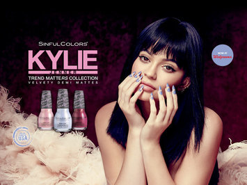 SinfulColors Kylie Jenner Trend Matters Velvety Demi Collection