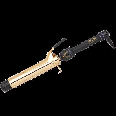 Hot Tools Professional Gold Extra Long Barrel Spring Curling Iron 1 1/2