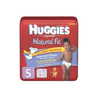Huggies® Supreme Natural Fit Improved Shape Diapers