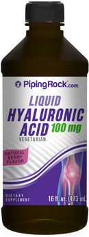 Piping Rock Hyaluronic Acid Liquid 100mg 16 fl oz