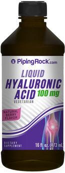 Piping Rock Hyaluronic Acid Liquid 100mg 16 fl oz