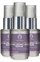 Piping Rock Hyaluronic Acid Serum 3 Bottles x 1 oz Serum