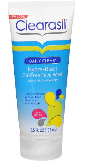 CLEARASIL® Daily Clear Hydra-Blast Oil-Free Face Wash