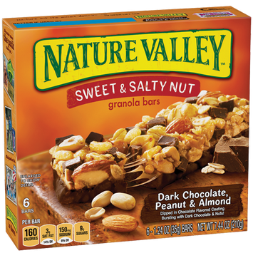 Nature Valley™ Sweet & Salty Granola Bars Dark Chocolate Peanut & Almond