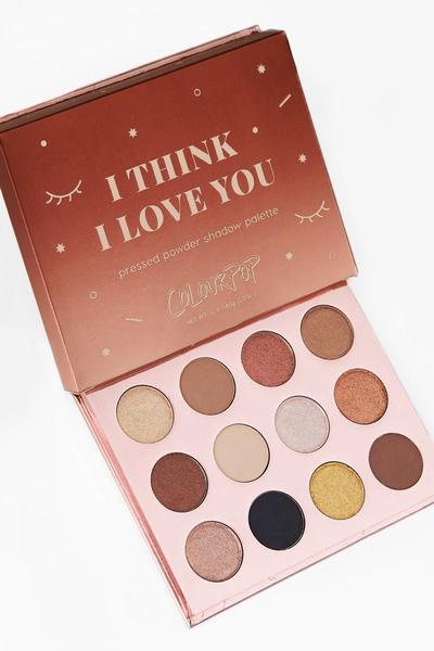 ColourPop I Think I Love You Pressed Powder Shadow Palette