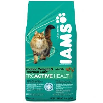 Iams Proactive Health Indoor Weight & Hairball Care Formula