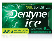 Dentyne Ice Spearmint Gum