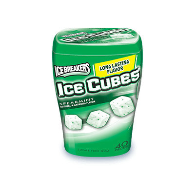 Ice Cubes Sugar Free Spearmint Gum