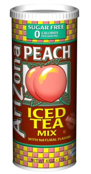 AriZona Sugar Free Peach Iced Tea Mix