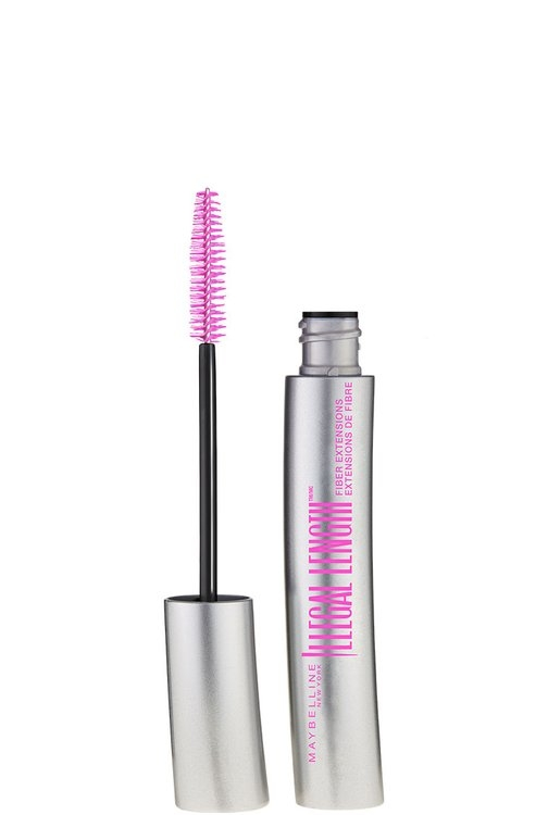 Maybelline Illegal Lengths Fiber Extensions Washable Mascara