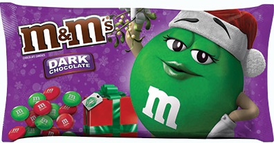 M&M'S® Brand Dark Chocolate Candies Holiday Blend