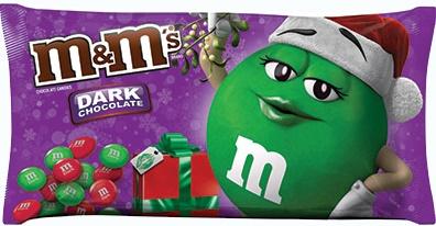 M&M'S® Brand Dark Chocolate Candies Holiday Blend