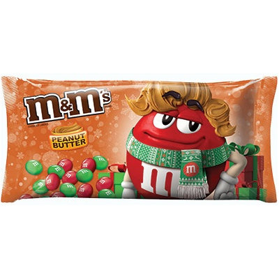 M&M'S® Brand Peanut Butter Chocolate Candies Holiday Blend