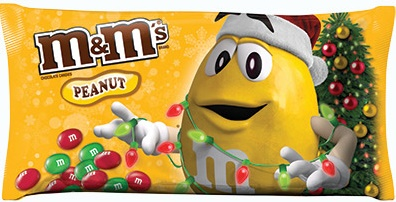 M&M'S® Brand Peanut Chocolate Candies Holiday Blend