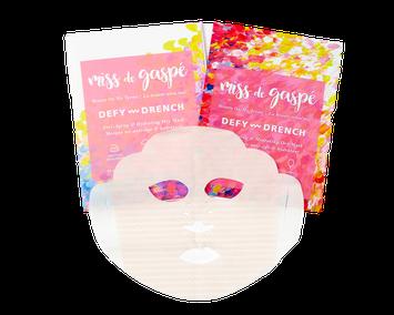 Miss De Gaspé Dry Sheet Masks Defy & Drench
