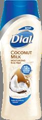 Dial Coconut Milk Body Wash