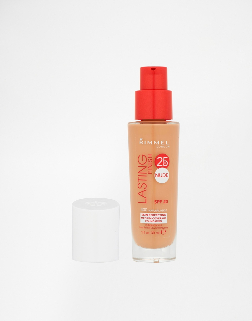 Rimmel London Lasting Finish Nude Foundation - Ivory £7.99