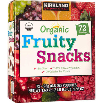 KIRKLAND Signature Organic Fruity Snacks