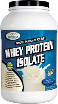 Integrated Supplements, CFM Whey Protein Isolate Vanilla Ice Cream 2 lbs