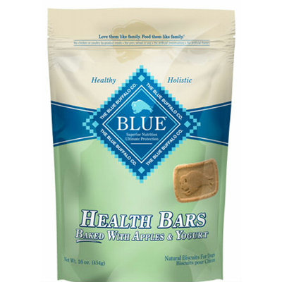 Blue Buffalo Health Bars Apples & Natural Yogurt Biscuits for Dogs 1lb