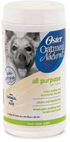 Oster Naturals All Purpose Dog Wipes 50ct