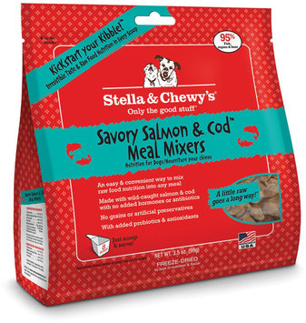 Stella and Chewys Meal Mixers Savory Salmon and Cod 3.5oz