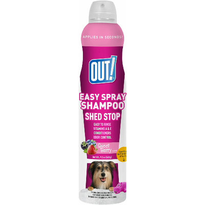 OUT! Easy Spray Shed Stop Shampoo, 9.2 oz