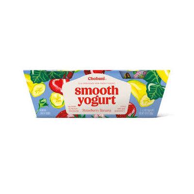 Chobani® Strawberry Banana Smooth Low-Fat Classic Yogurt