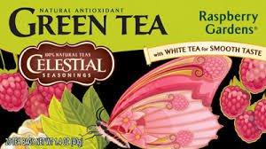 Celestial Seasonings Raspberry Gardens Green Tea Bags