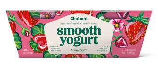 Chobani® Smooth Strawberry Low-Fat Classic Yogurt
