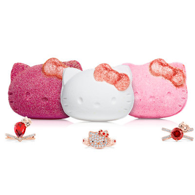 Hello Kitty Bath Bomb Trio