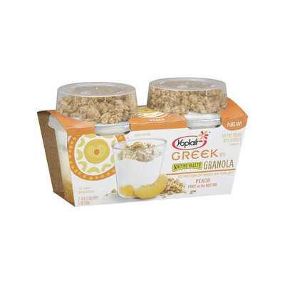 Yoplait® Greek Yogurt Peach With Nature Valley Granola