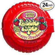 Hubba Bubba Bubble Tape Snappy Strawberry