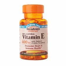 Sundown Naturals Vitamin E